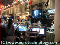 SONY's Gran Turismo at Tokyo Game Show TGS2004