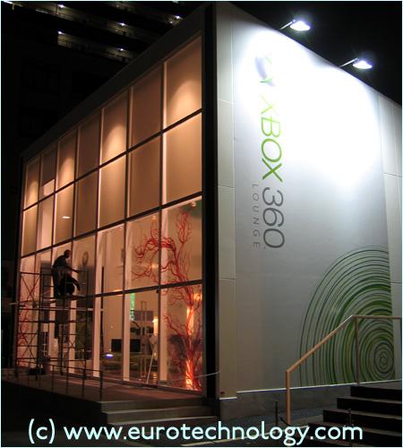 XBox 360 Lounge in Tokyo Omotesando