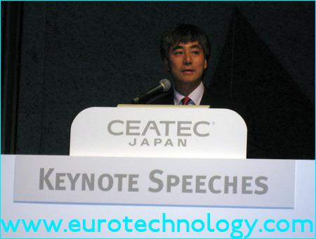 ACCESS CEO Toru Akarakawa