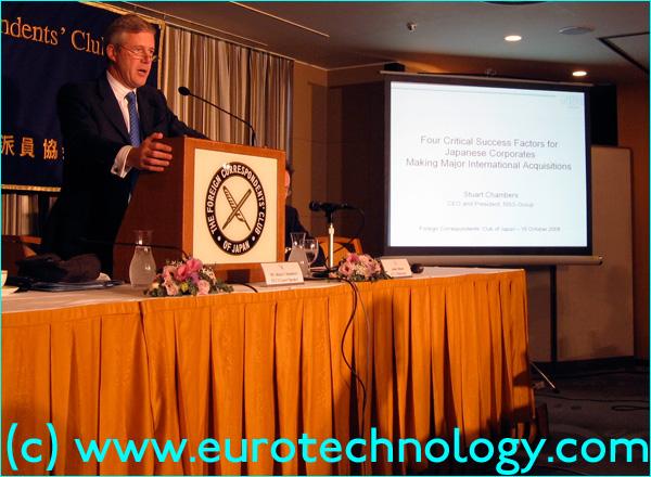 Stuart Chambers, CEO of NSG Group