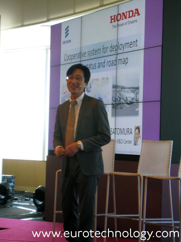 Masashi Satomura, Chief Engineer Dept 3, Honda R&D
