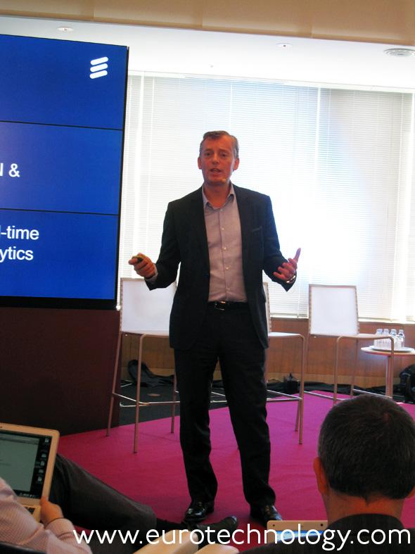 Ulf Ewaldsson, CTO, Ericsson