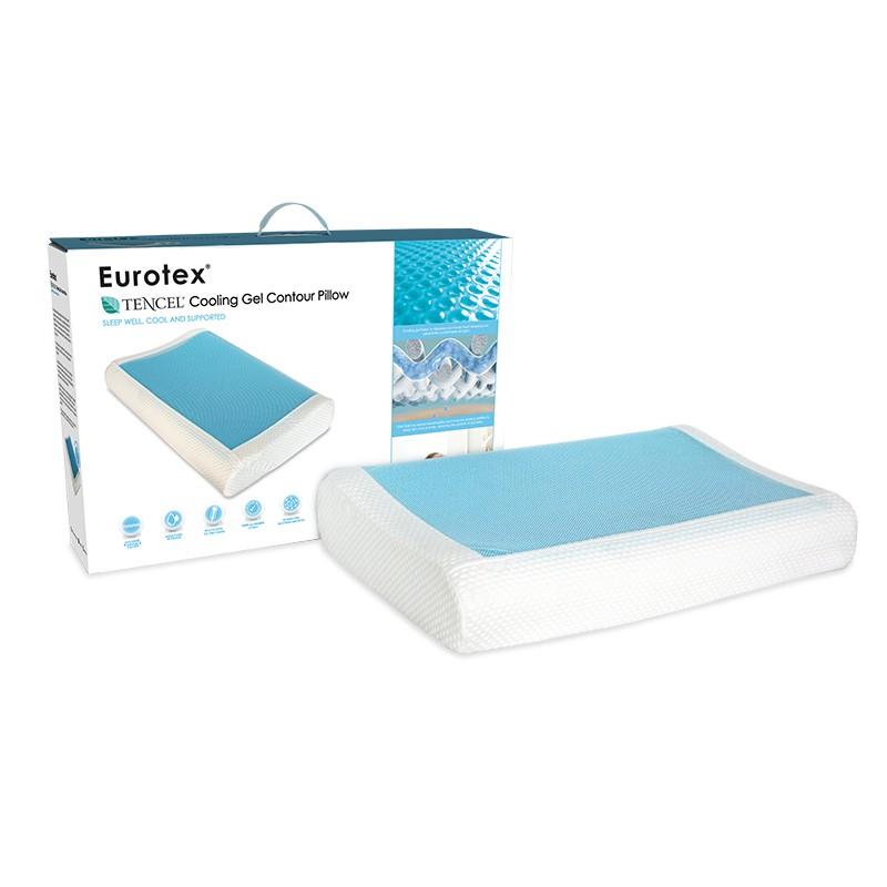 eurotex tencel cooling gel contour
