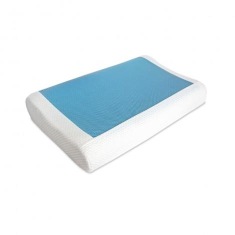 eurotex tencel cooling gel contour memory foam pillow eurotex