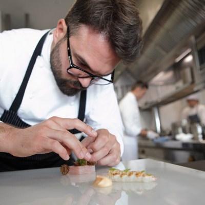 La cucina di Enrico Croatti ad Alicante <br>nel menu del Ristorante Orobianco