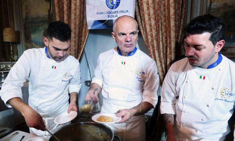 Un successo la cena che chiude il Congresso Sicilia