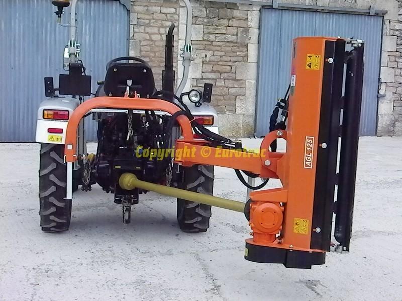 Broyeur D Accotement Agl Pour Tracteur A Partir De 15 Cv Eurotrac