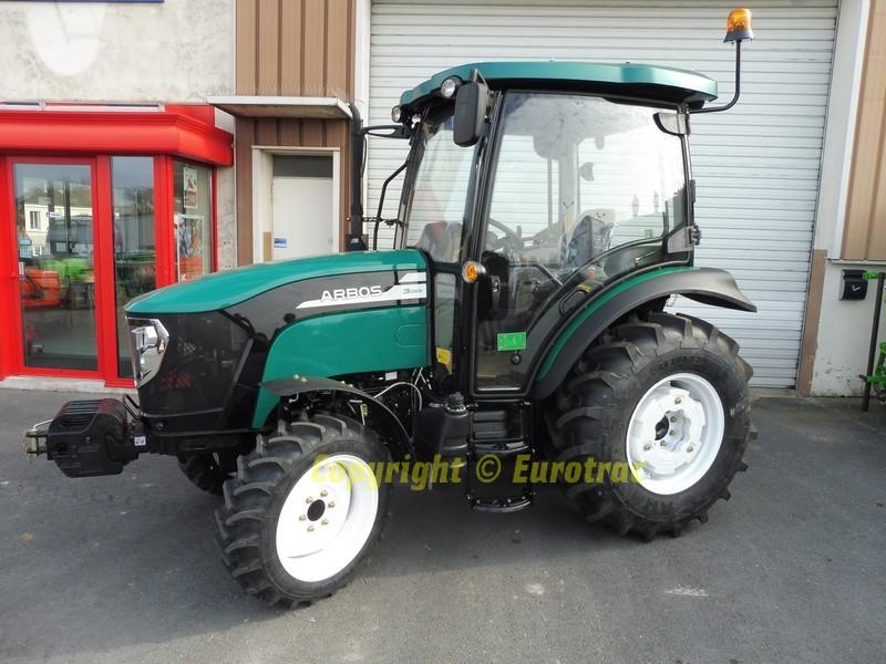 Tracteur Agricole Arbos 3055 50 Cv 4x4 Cabine Climatisee Eurotrac