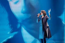 Isaiah Firebrace Rehearsing at the 62nd Eurovision Song Contest in Ukraine