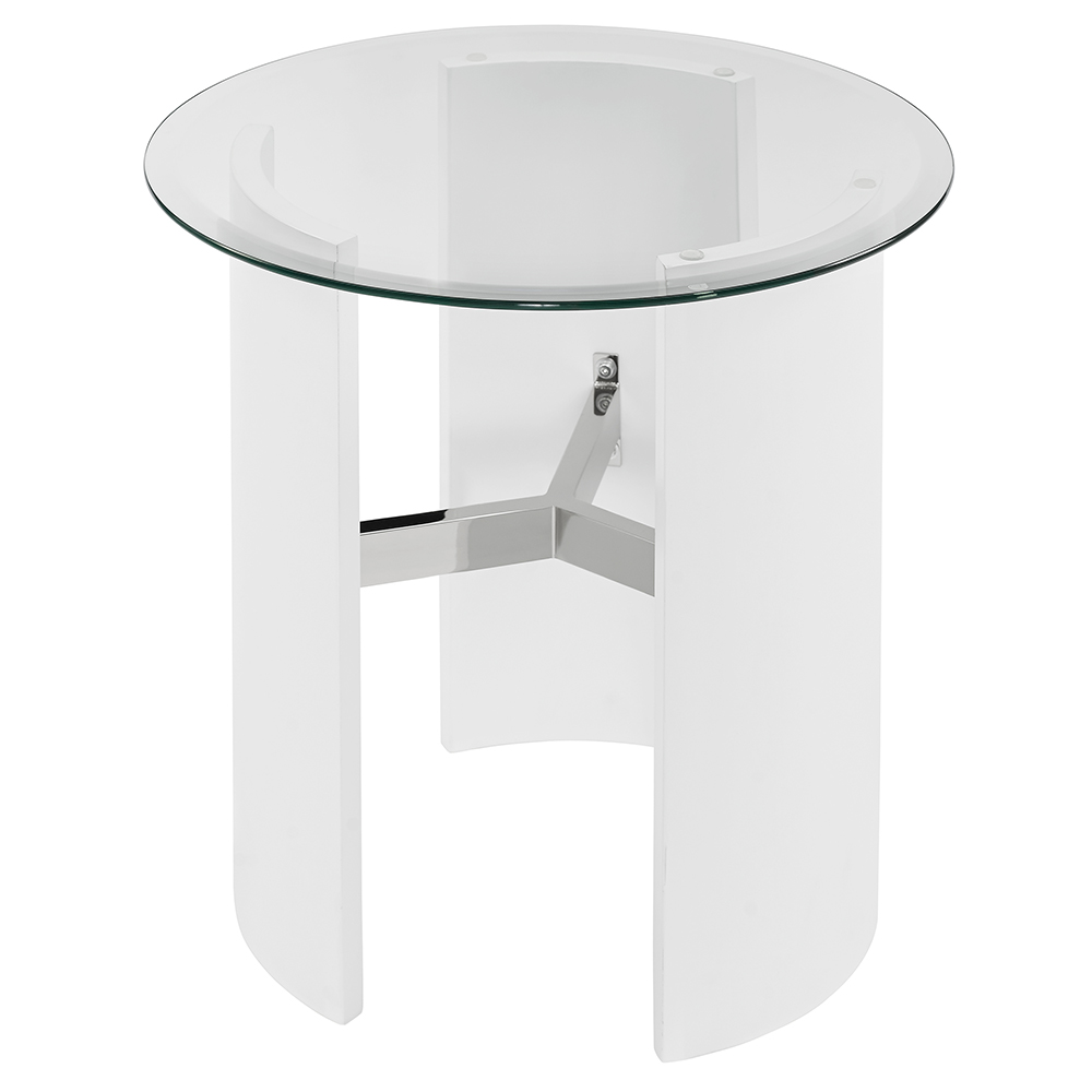 canada end table white