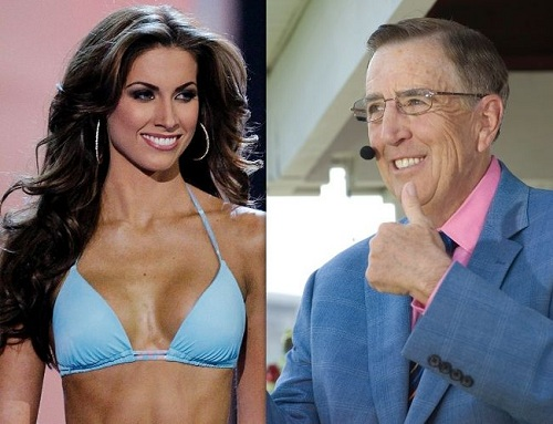 Image result for images of katherine webb and brent Musburger