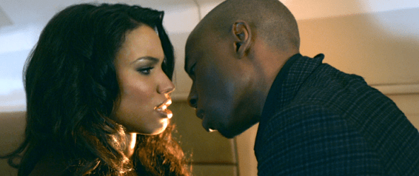 "Jurnee Smollett-Bell and Robbie Jones in ""Temptation: Confessions of a Marriage Counselor"""
