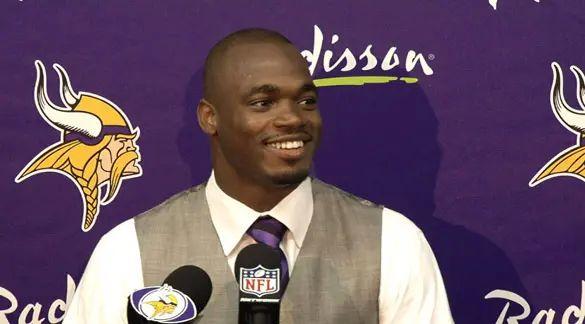 Adrian Peterson Thinks He'll Play Again for the Minnesota Vikings