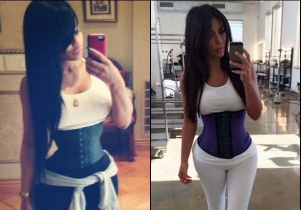 What Kim K and Blac Chyna Aren't Saying About 'Waist Training'