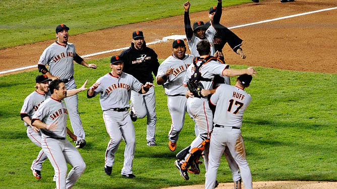 sf giants victory