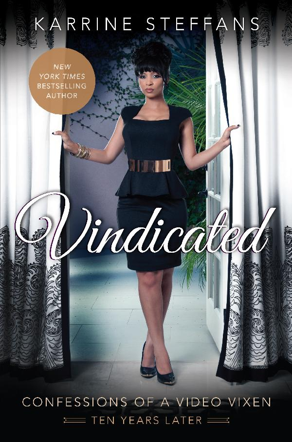 karrine steffans - vindicated cover