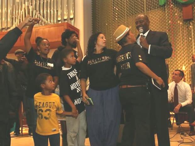 b63958e8 BlackLivesMatter (LA Chapter) Targeted by Religious, Community ...