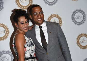 Dominque Morisseau (L) and Branden Jacobs