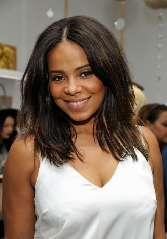 Actress Sanaa Lathan attends the opening of Kimora Lee Simmons' Beverly Hills boutique with W Magazine on December 10, 2015 in Beverly Hills, California.