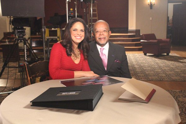 "Dr. Henry Louis Gates Jr. with Soledad O'Brien on ""Finding Your Roots"""