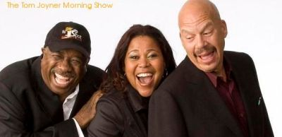 The Tom Joyner Morning Show: (L-R) J. Anthony Brown, Sybil Wilkes and Tom Joyner
