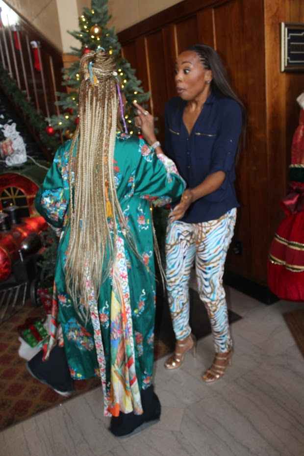 Miss Me This Christmas.Tvone Eva Marcille Erica Ash Gearing Up For Dramatic