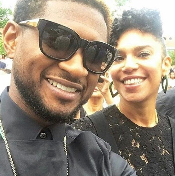 Usher and Grace Miguel Separating     Post Scandalous Herpes