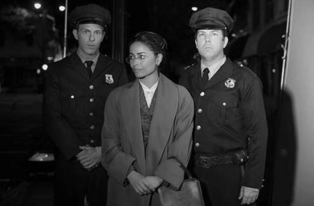 meta golding as rosa parks