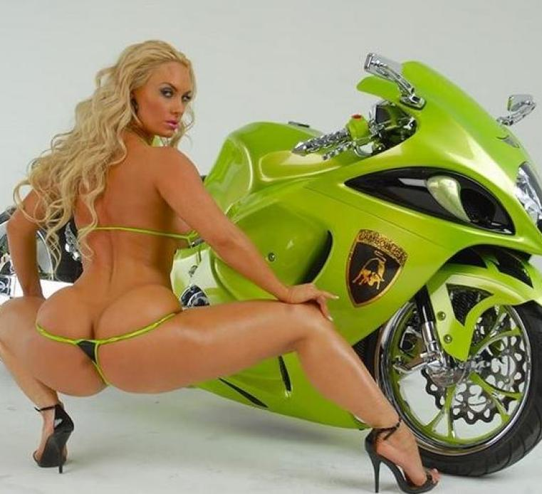 coco austin - motorcycle