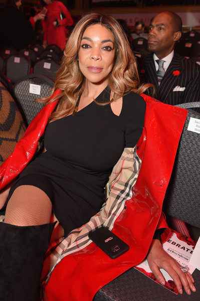 8208ef8e7c3 TV personality Wendy Williams poses backstage at the American Heart  Association s Go Red For Women Red