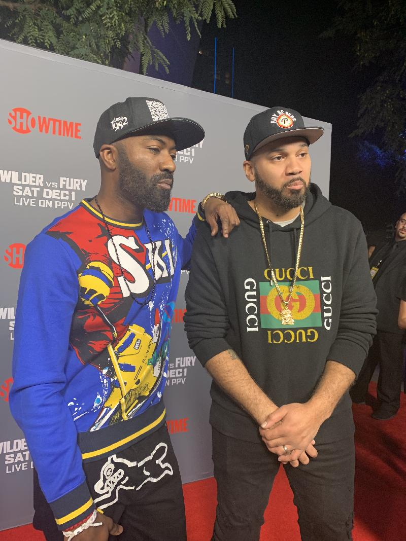 Jemele Hill and More Hit the Carpet for Wilder vs  Fury (PHOTOS)