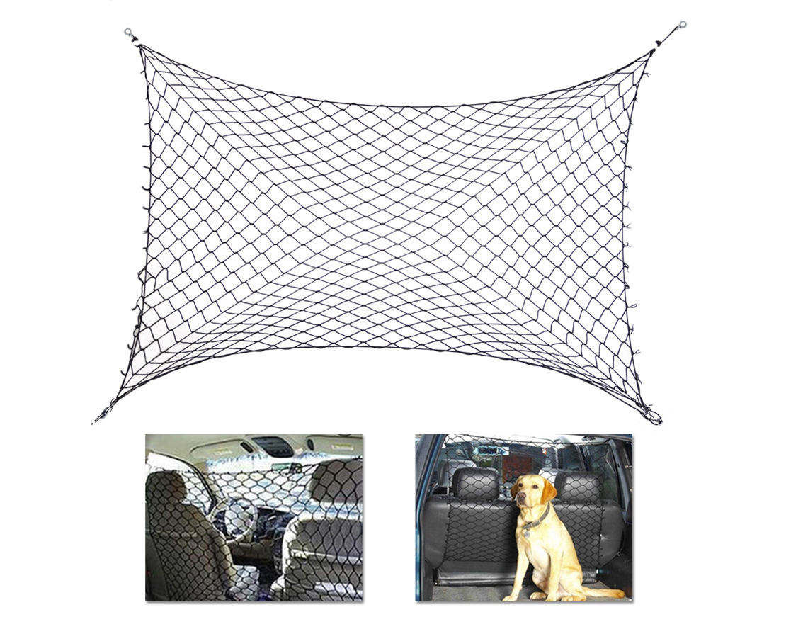 Car Van Suv Truck Cargo Seat Pet Dog Barrier Net Safety