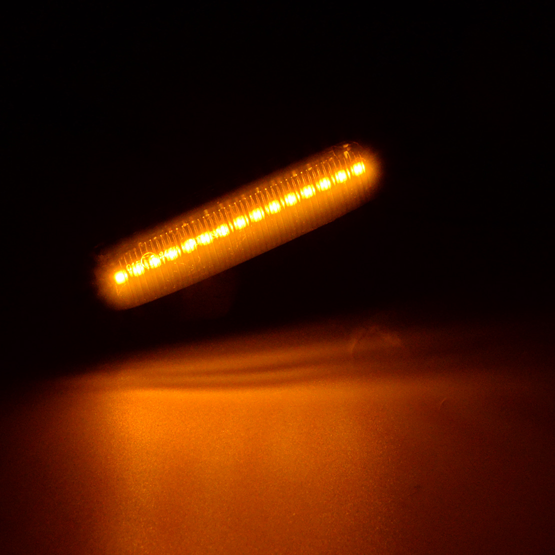 1 Pair L Amp R Dynamic Led Side Marker Turn Signal Light Fit