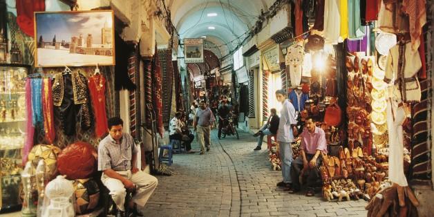 أسواق المدينة العتيقة تونس