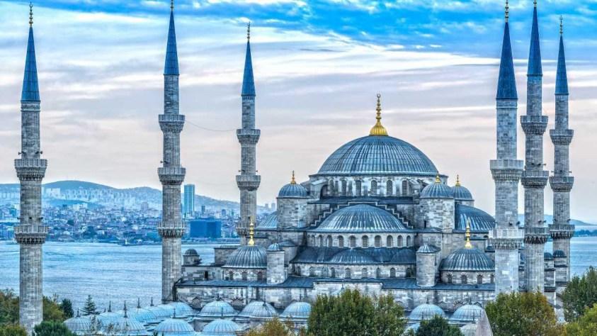 جامع السلطان احمد في اسطنبول