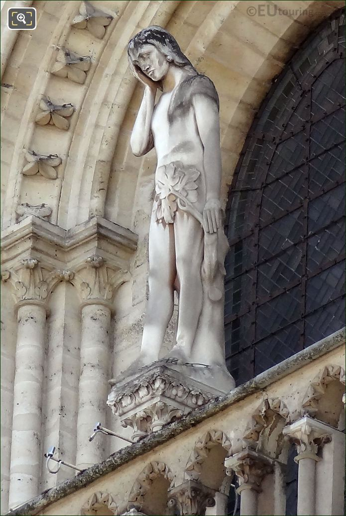 HD Photo Of The Adam Statue At Notre Dame Cathedral Page 42