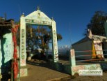 Entry Gate of Kartikswami Temple Trek from village