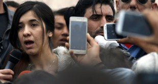 Sakharov Prize for freedom of thought 2016: Nadia MURAD BASEE