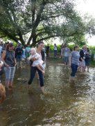 Taufe an der Sieg