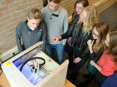 3D-printer in de klas