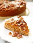Toasted pecan torte