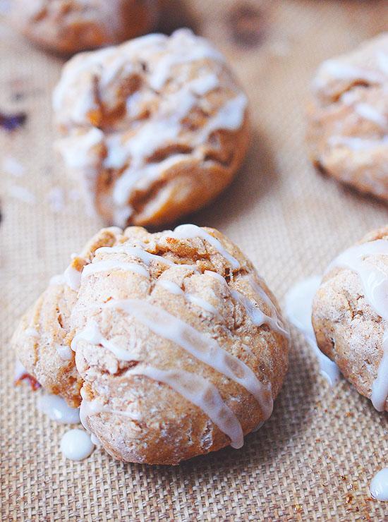 skinny gingerbread scones