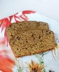 Healthier acorn squash bread