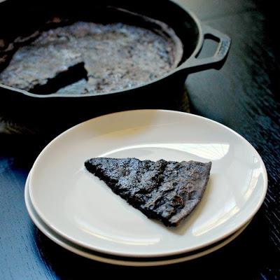 Chocolate Dutch baby pancake