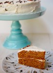 Butternut squash fall spice cake with cream cheese frosting