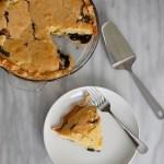 Pennsylvania Dutch funny cake pie