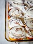 Sweet lemon sticky rolls