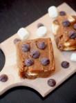 No-bake Nutella s'mores bars