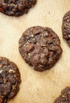 Dorie's chocolate oatmeal cookie butter cookies