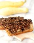 Marbled chocolate zucchini bread